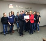 Rotsaert Staff Recognized by Heart & Stroke Foundation